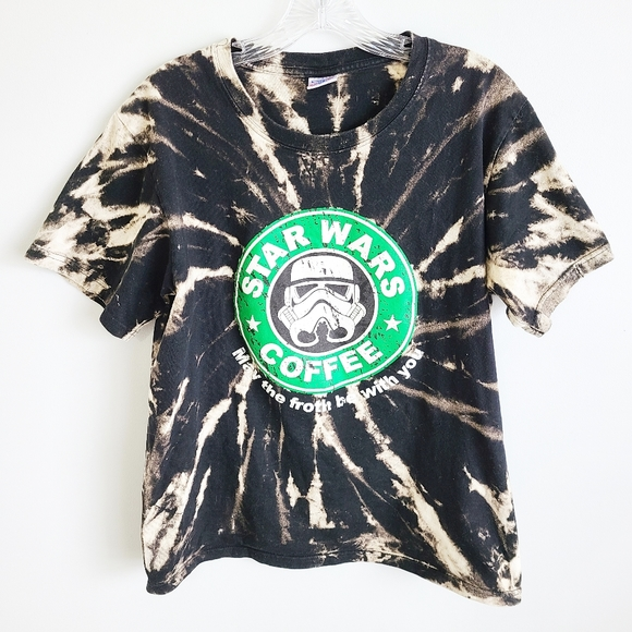 Star Wars storm trooper tie dye tee